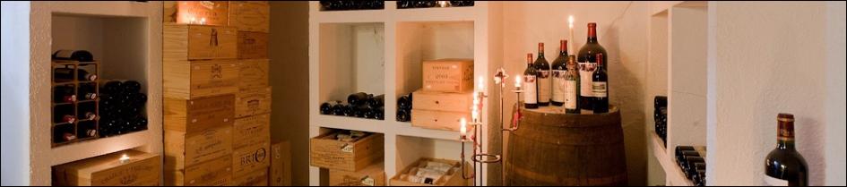 Prebens vinhandel vinkælder